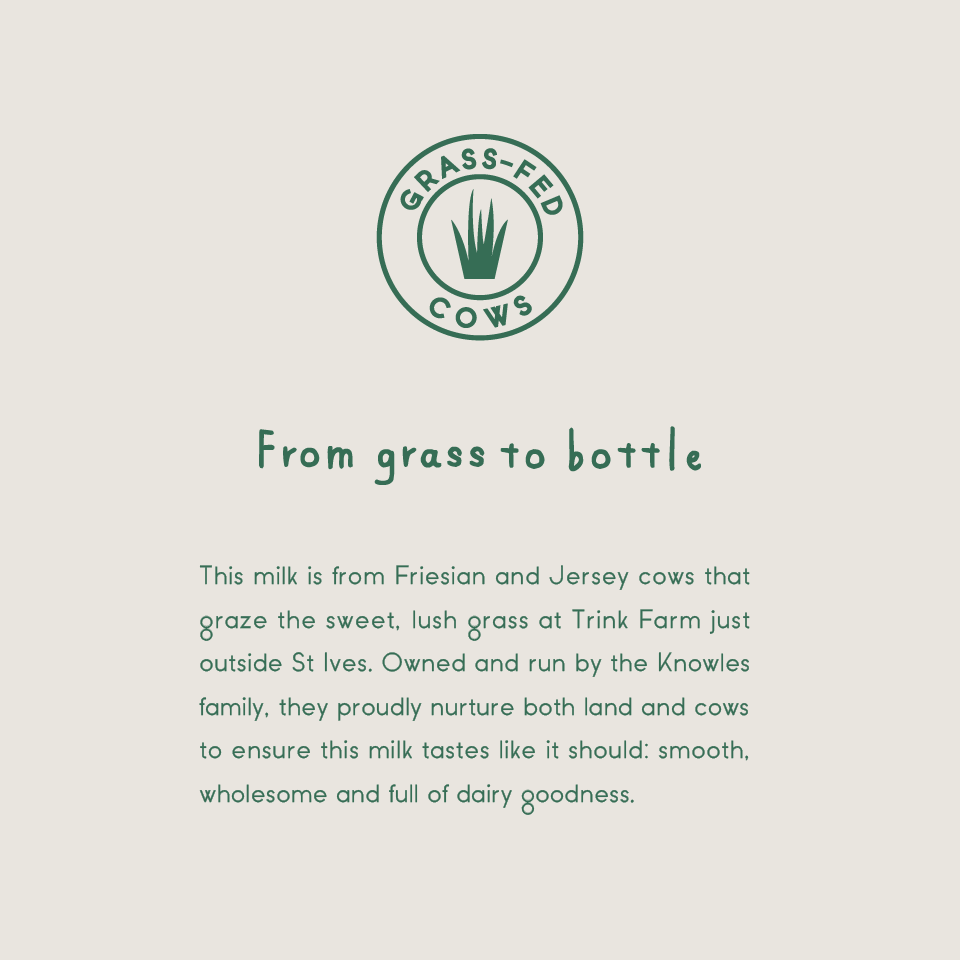 From grass to bottle