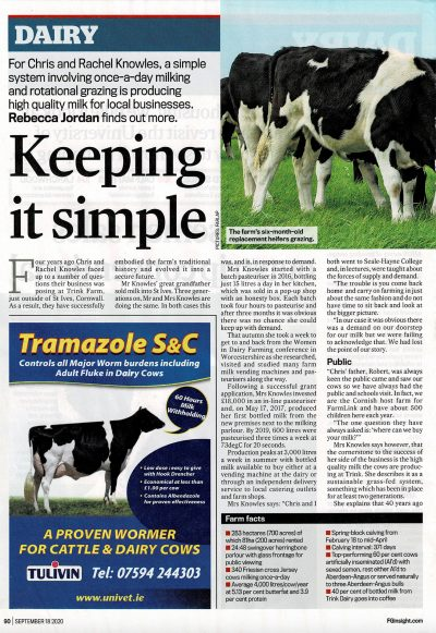 Farmers Guardian Dairy supplement